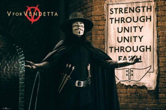 V For Vendetta, V значит вендетта