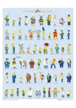 Симпсоны, все герои