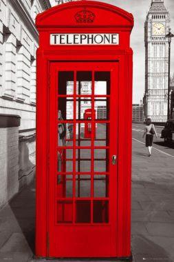 London, Лондон, Телефонная Будка