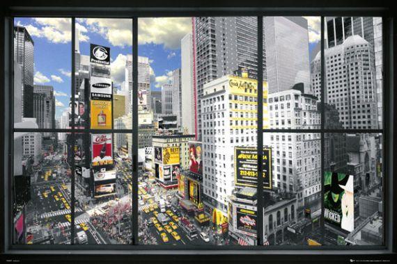 New York, Window, Окно