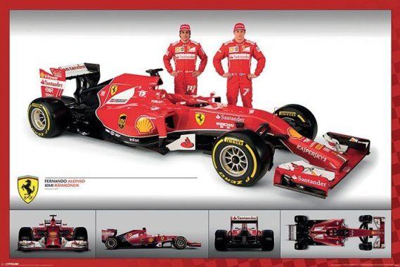 Ferrari F1, Alonso and R?ikk?nen