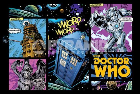 Doctor Who, Доктор Кто, Комиксы