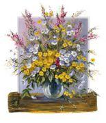 Золотой букет, Цветы
