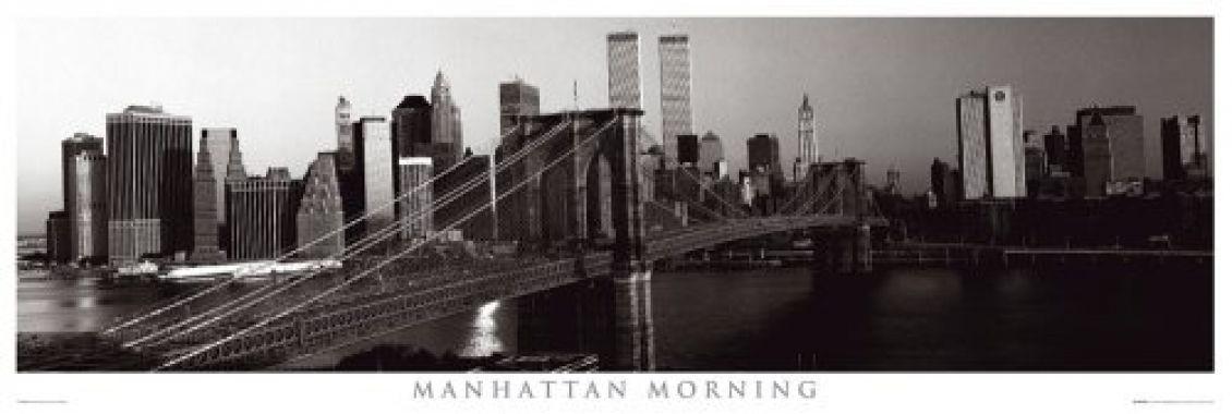 Нью Йорк, Манхетен утром