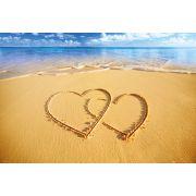 Пляж, Сердца