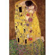 Gustav Klimt's, The Kiss