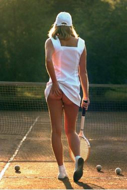 Теннисистка, Tennis Girl